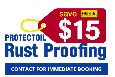 Save money on car rust proofing today